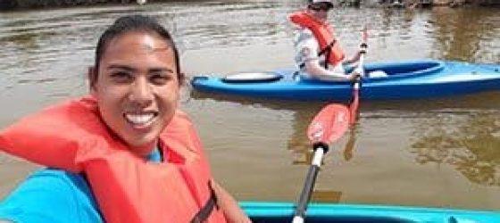 Kayaking Near Canaveral