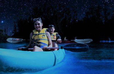 Florida Bioluminescent Kayaking Tours near Orlando, Cocoa Beach Photo