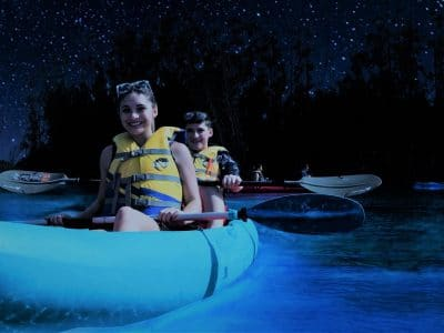 Florida Bioluminescent Kayaking Tours near Orlando, Cocoa Beach Photo