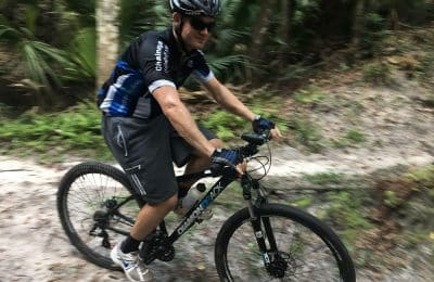 action mountain biking