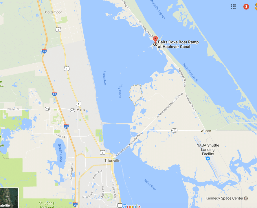 Directions To Bairs Cove Boat Launch At Haulover Canal