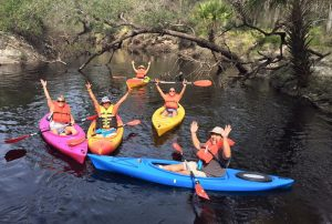 econlockhatchee river kayaking near orlando florida