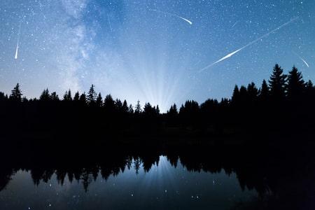 Perseid Meteor Shower Florida Bioluminescence