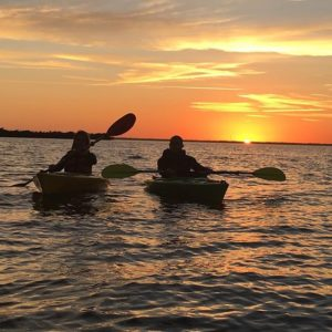 Florida Sunset with bioluminescence tour from BK Adventure Kayaking