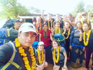 Nepal guides and Medical Trek Nepal team