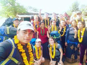 Nepal guides and Medical Trek Nepal team