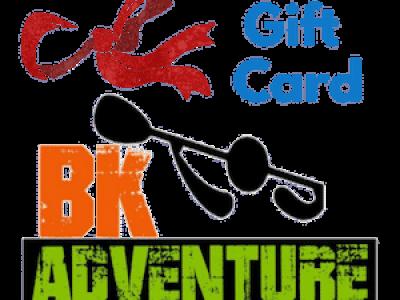 BK Adventure Gift Card