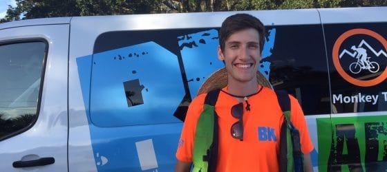 BK Adventure Florida Kayaking Tour Guide Max Gavin