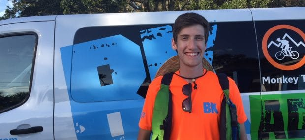 BK Adventure Florida Kayaking Tour Guide Max Gavin
