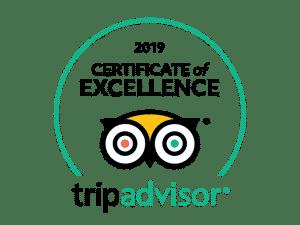 Trip Advisor Excellence BK Adventure Florida Tours