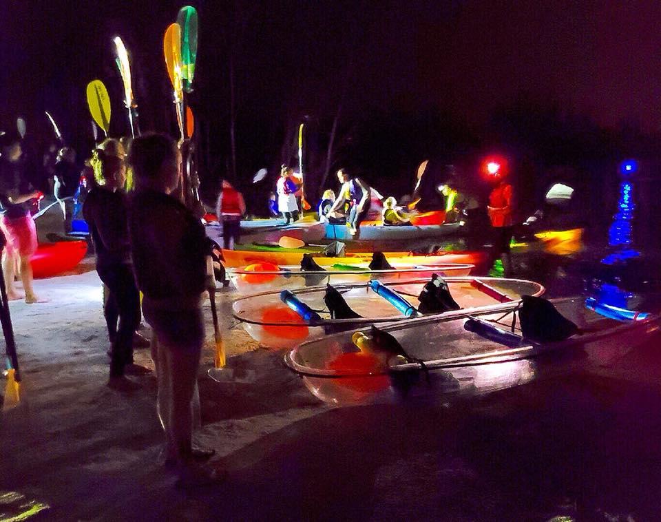 Florida Clear Kayaking Bioluminescence Tour